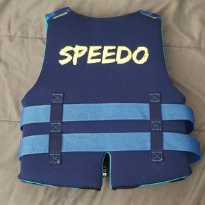 Speedo Swim - Blue camo speedo life jacket